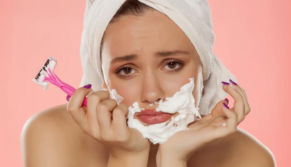 Teen sex facial hair removal
